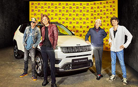 Jeep Compass in tour con i Rolling Stone
