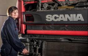 E se il meccanico dei camion fosse donna?