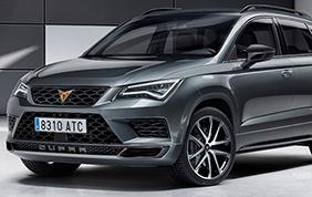 Seat Cupra Ateca: massima potenza per il SUV spagnolo