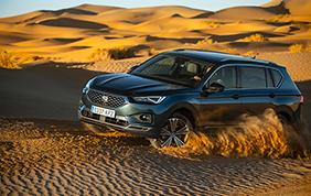 La Seat Tarraco 4Drive nel deserto