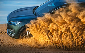Seat Terraco: performance impeccabile nel deserto africano