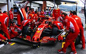 Vittoria per Vettel sul circuito di SPA Franchorchamps