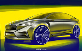Skoda Vision iV: il concept debutta al salone di Ginevra