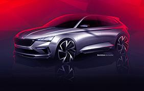 Skoda Vision RS al Salone dell'Auto di Parigi