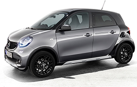 smart forfour crosstown edition: solo online!