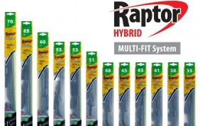 Le spazzole tergicristallo Raptor Hybrid