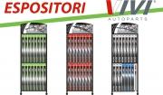 VIVI Autoparts: completezza degli espositori spazzole