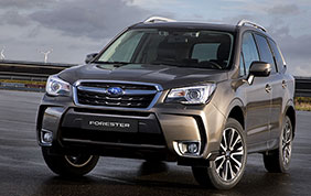 Nuova Subaru Forester Model Year 2019