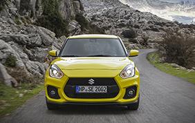 Suzuki Swift Sport: spazio alla leggerezza e potenza
