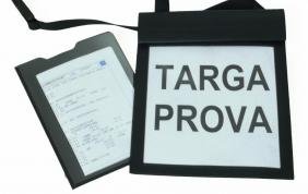 Stop alla targa prova per spostamenti di veicoli già immatricolati