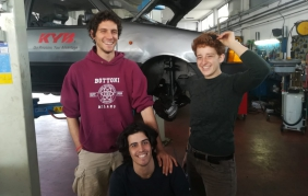 KYB Italy sponsorizza il team PB1 al Mongol Rally