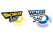 Le immagini dei prodotti a 360 gradi nei cataloghi elettronici Monroe® e Walker®