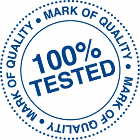 100% Tested