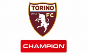 Champion è official partner del Torino