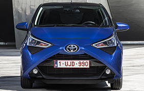 Nuova Toyota Aygo Model Year 2019