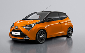 Toyota Aygo Special Edition x-wave orange ed x-cite