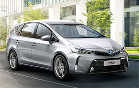 Nuova Toyota Prius+ Model Year 2018