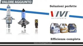 VIVI Autoparts: lampade a valore aggiunto