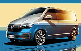 Restyling in arrivo per l'iconico camper Volkswagen
