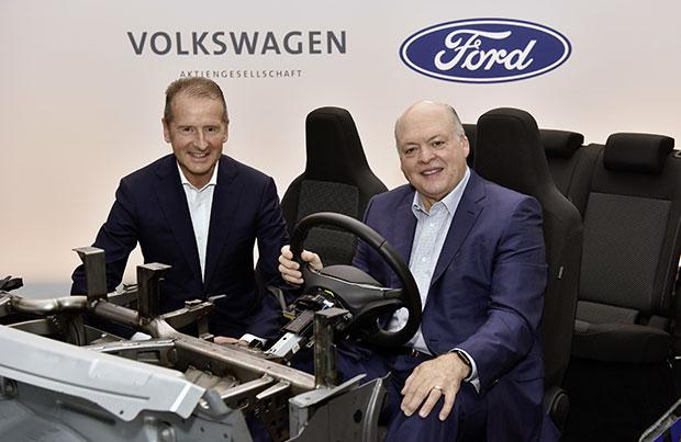 Ford e Volkswagen annunciano la loro collaborazione