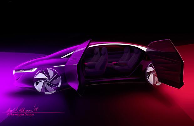 Pronta la Volkswagen I.D. Vizzon per il Salone dell'Auto di Ginevra
