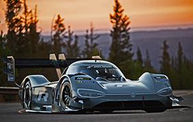 Una Volkswagen elettrica da record mondiale alla Pikes Peak