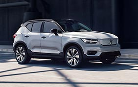 Volvo XC40 Recharge P8 AWD: ricarica veloce!