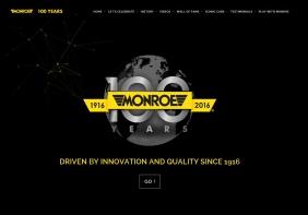 Tenneco celebra il centenario di Monroe®con l'apertura del nuovo sito web Monroe100.com