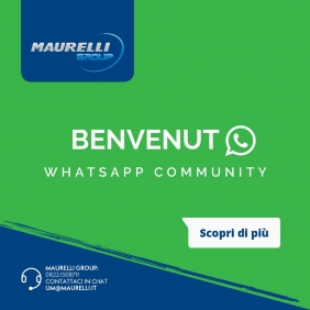 WHATSAPP COMMUNITY MAURELLI GROUP