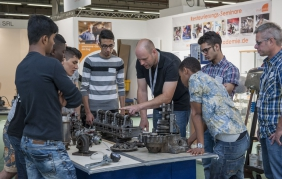 I workshop di Automechanika Francoforte