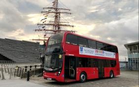 ZF fornisce un sistema di trazione elettrica a un autobus con cella a combustibile