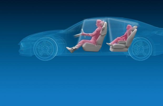 Un sistema 3D per osservare l'abitacolo dell'auto