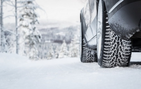 gomme auto sulle neve