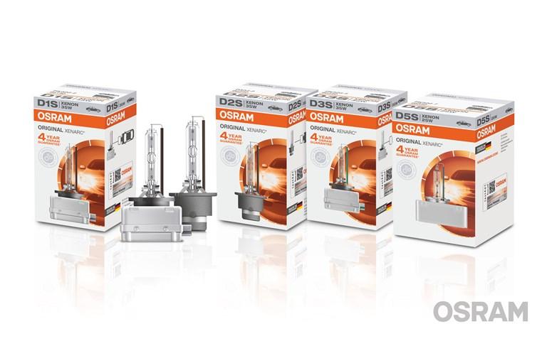 Nuova lampada Osram: si amplia la gamma XENARC ORIGINAL