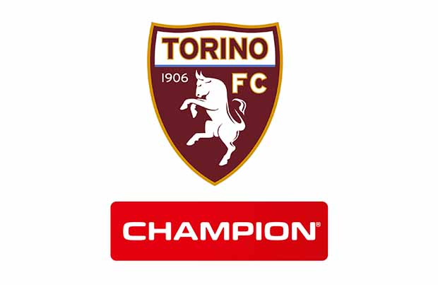 Champion è official partners del Torino