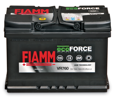 Batterie Stop&Start ecoFORCE AGM - FIAMM Energy Technology S.p.A.