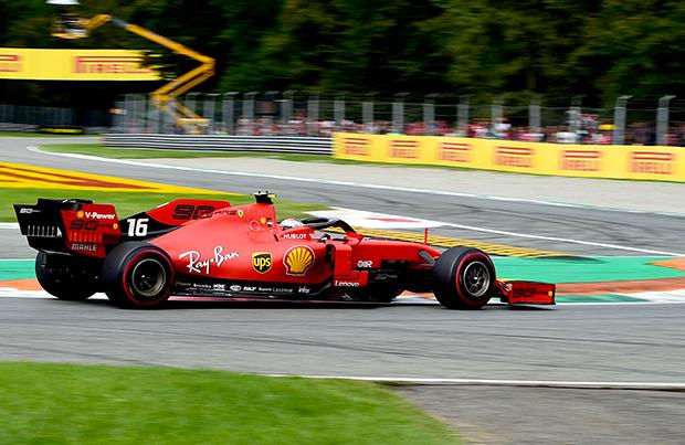 Battaglia in pista A Monza trionfa Leclerc!