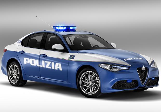 Alfa Romeo Giulia Polizia: foto e informazioni