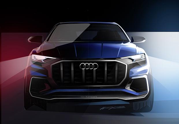 Audi Q8 Concept - Due teaser per confermare il debutto a Detroit