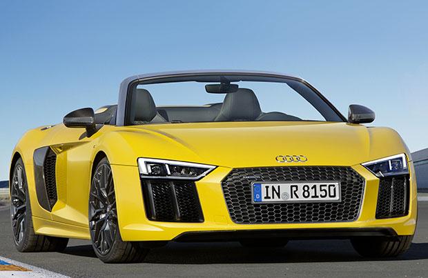 Audi R8 Spyder V10 MY 2017: scatta la prevendita in Italia