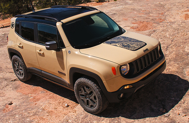 Jeep Renegade Desert Hawk: ecco la nuova Limited Edition