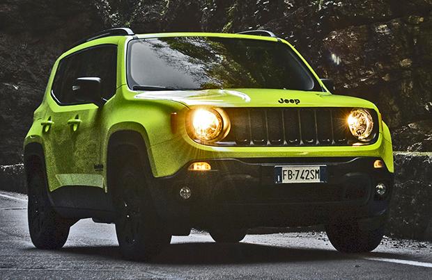Jeep Renegade Upland: quasi Trailhawk