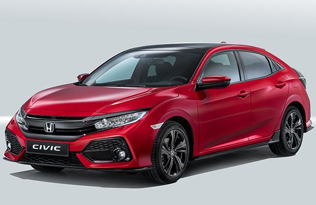 Honda Civic, la decima generazione al debutto al Salone di Parigi 2016