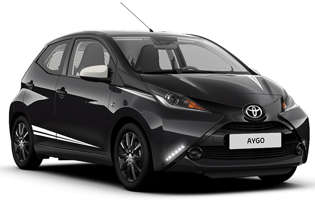 Toyota Aygo X-Black Limited Edition