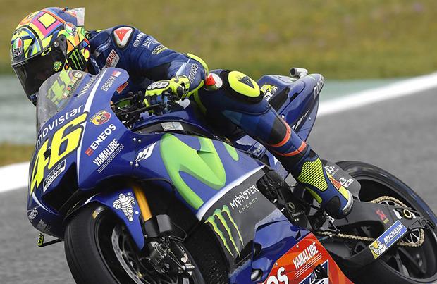 Un deludente Valentino Rossi non va oltre la decima posizione ad Jerez