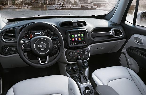 Tecnologia ed intrattenimento sulla nuova Jeep Renegade 2018