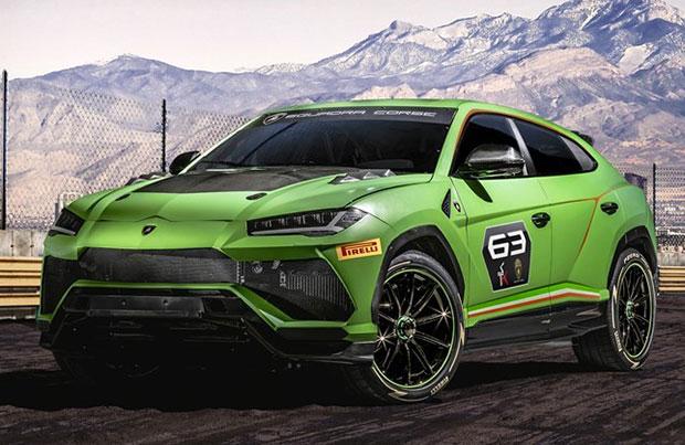 Lamborghini Urus arriva il SUV da pista