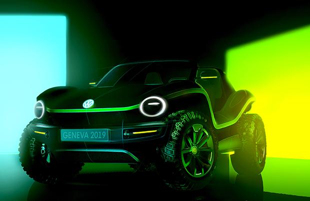 Volkswagen mostra la dune buggy elettrica